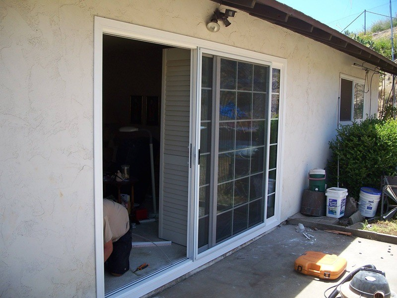 sliding doors Oceanside