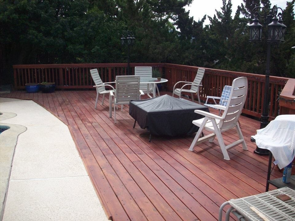 deck installation 92007